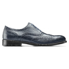 Oxford in pelle bata, blu, 824-9801 - 26