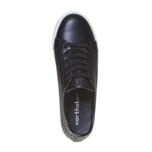 Sneakers casual da donna, nero, 541-6204 - 19