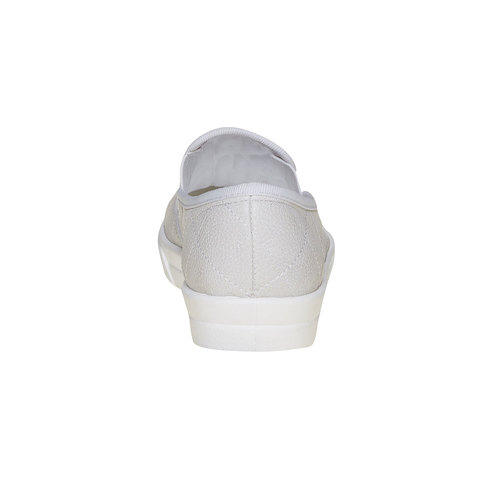 Slip-on trapuntate da donna north-star, bianco, 531-1125 - 17