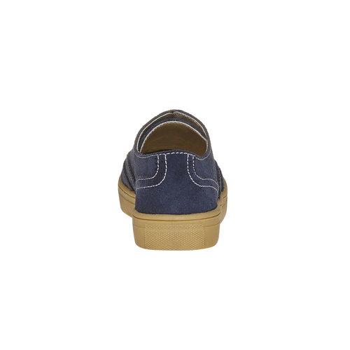 Sneakers da bambino in stile scarpe basse, blu, 313-9256 - 17