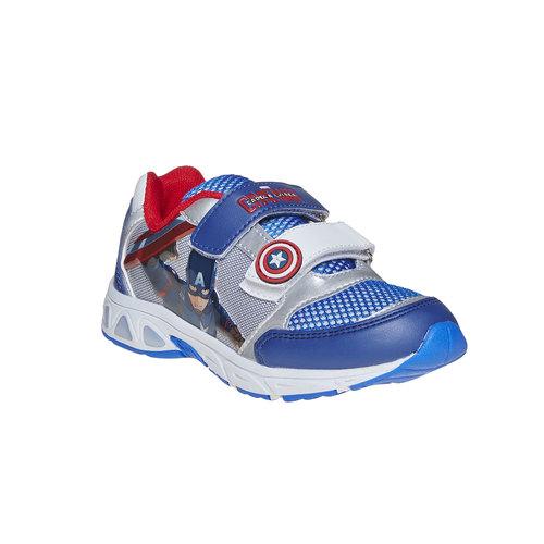 Sneakers da bambino con motivo, blu, 319-9254 - 13