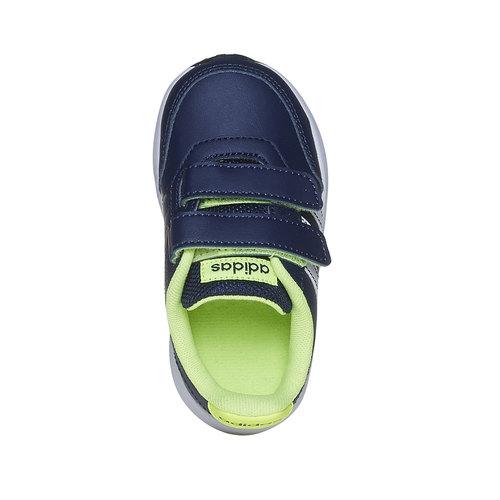Sneakers da bambino con chiusure a strappo adidas, blu, 109-9163 - 19