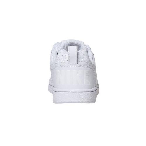 Sneakers bianche con perforazioni nike, bianco, 501-1333 - 17
