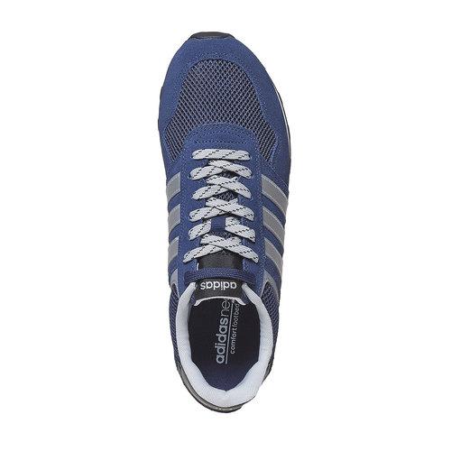 Sneakers in pelle da uomo adidas, blu, 803-6193 - 19