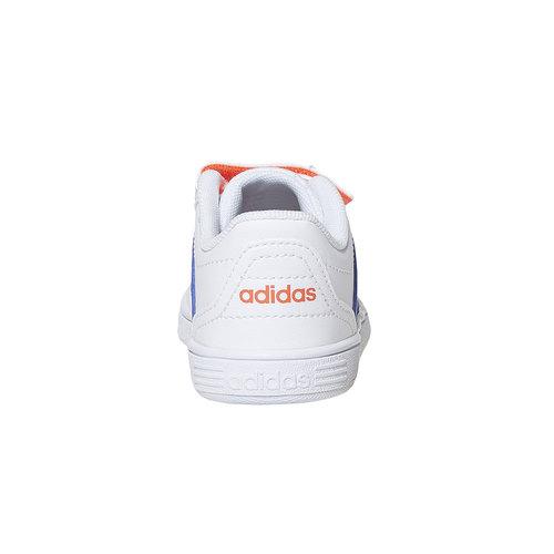Sneakers da bambino con chiusure a velcro adidas, blu, 101-9254 - 17