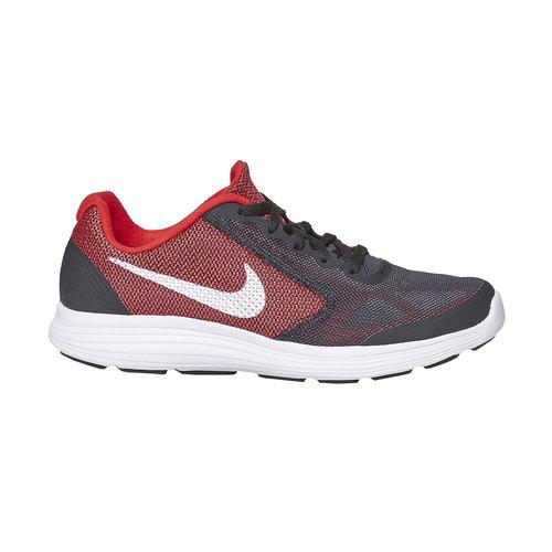 Sneakers sportive da bambino nike, nero, 409-6149 - 15