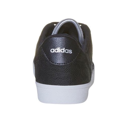 Sneakers nere da donna con pizzo adidas, nero, 509-6195 - 17