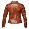 Biker da donna in pelle bata, marrone, 974-3162 - 17