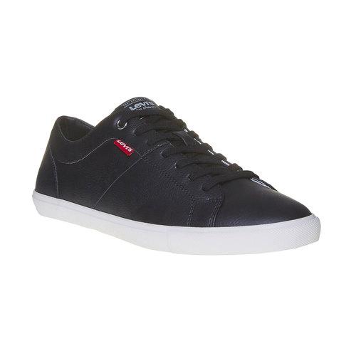 Sneakers da uomo levis, nero, 841-6513 - 13