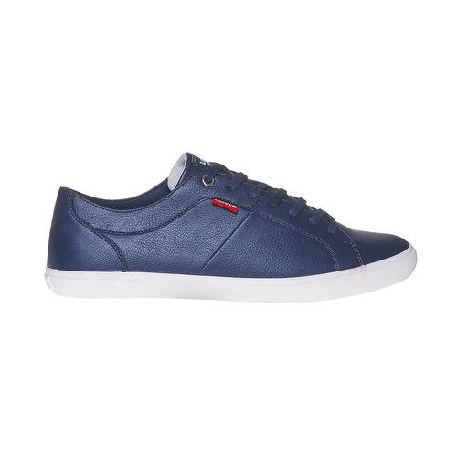 Sneakers casual da uomo levis, blu, 841-9513 - 15