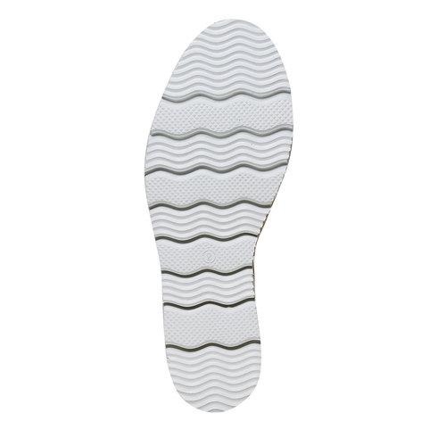 Mocassini da donna con suola appariscente bata, grigio, 514-2256 - 26