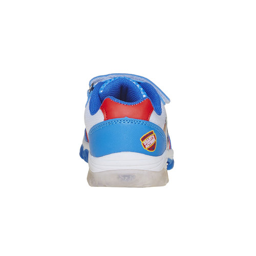 Sneakers da bambino con motivo, blu, 219-9175 - 17
