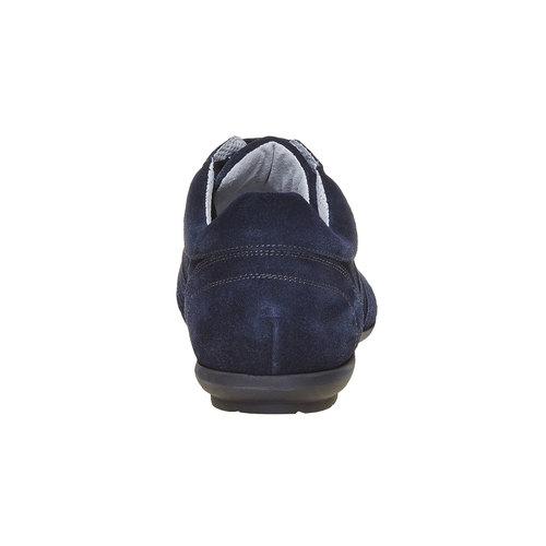 Sneakers in pelle da uomo bata, blu, 843-9381 - 17