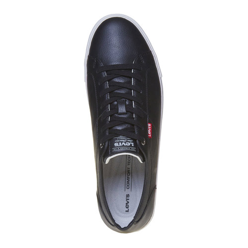 Sneakers da uomo levis, nero, 841-6513 - 19