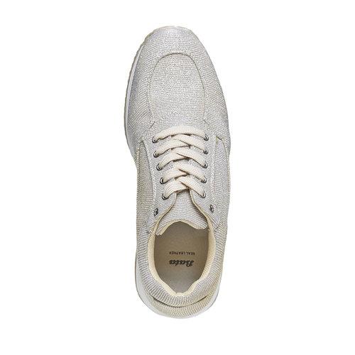 Sneakers dorate da donna bata, beige, 549-8255 - 19