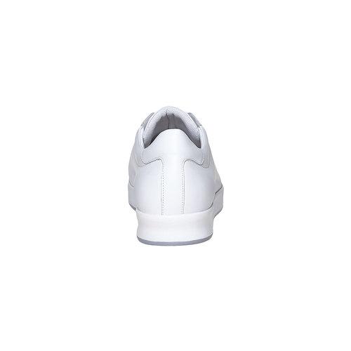 Sneakers bianche di pelle flexible, bianco, 844-1705 - 17
