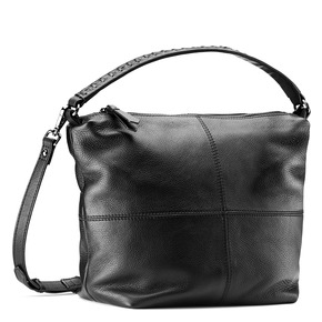 Borsa hobo in pelle bata, nero, 964-6121 - 13