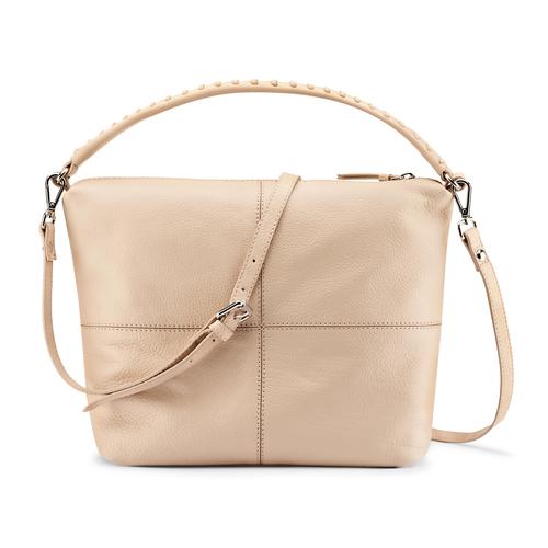 Hobo bag in pelle bata, bianco, 964-1121 - 26