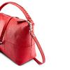 Hobo bag in pelle bata, rosso, 964-5121 - 15