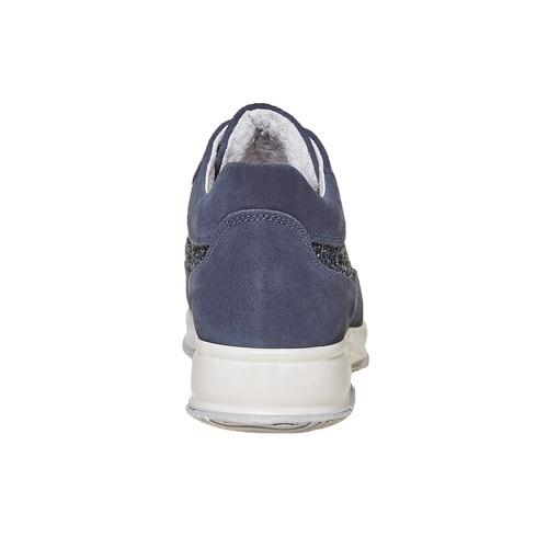 Sneakers casual da donna bata, blu, 523-9583 - 17