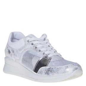 Sneakers da donna con dettagli metallizzati north-star, bianco, 541-1205 - 13
