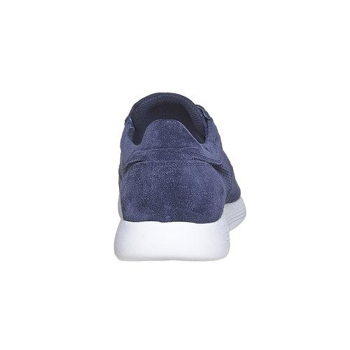 Sneakers in pelle da uomo flexible, blu, 843-9703 - 17