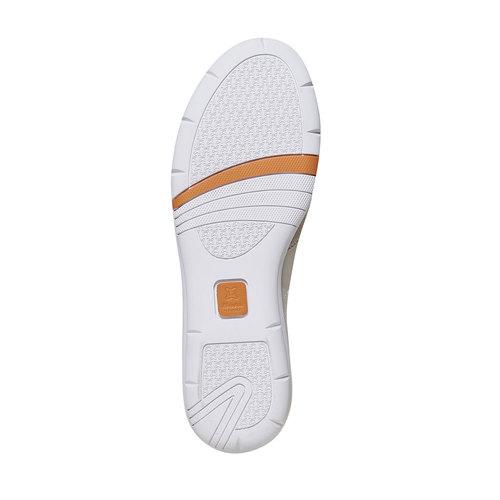 Sneakers da donna in pelle flexible, giallo, 514-8271 - 26