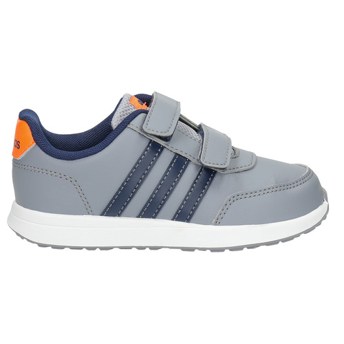 Sneakers da bambino con chiusure a velcro adidas, grigio, 109-2163 - 15