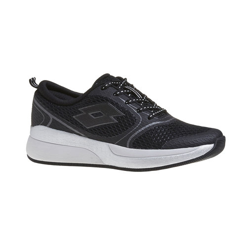 Sneakers sportive da donna lotto, nero, 509-6956 - 13