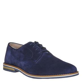 Scarpe basse di pelle da uomo bata, blu, 823-9267 - 13