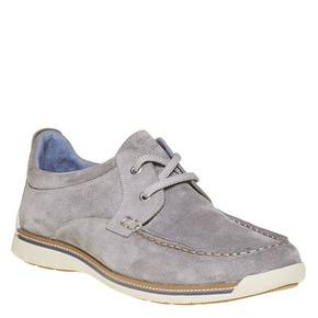 Sneakers informali di pelle bata, beige, 843-1297 - 13