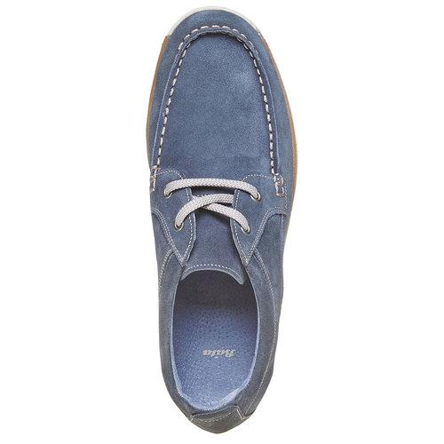 Sneakers informali da uomo bata, blu, 843-9297 - 19
