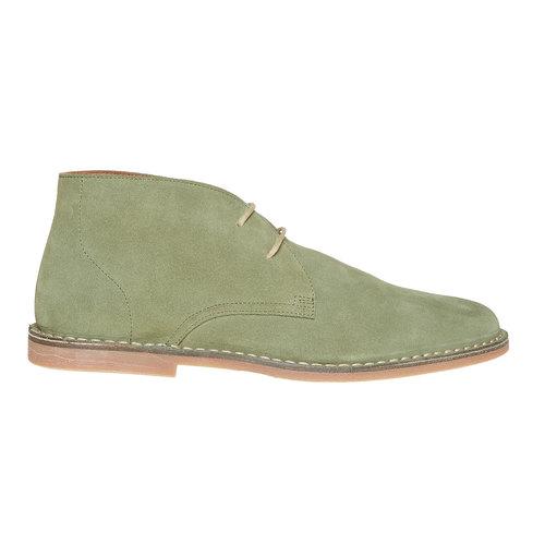 Scarpe di pelle in stile Desert Boots bata, verde, 843-7267 - 15