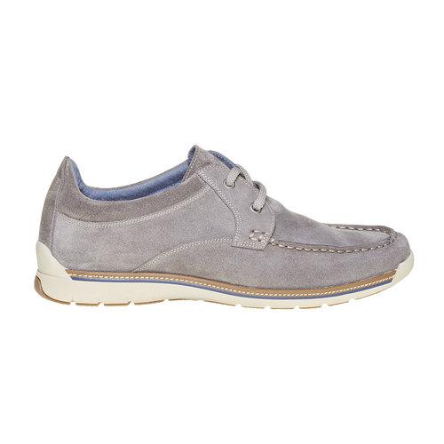 Sneakers informali di pelle bata, beige, 843-1297 - 15