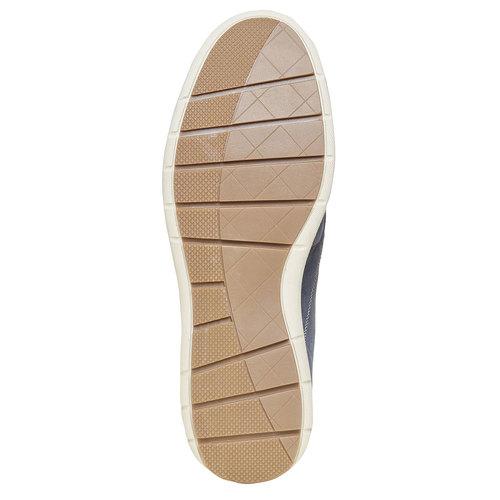 Sneakers informali da uomo bata, blu, 843-9297 - 26
