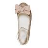 Ballerine da ragazza con fiocco mini-b, oro, 329-8241 - 19