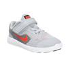 Sneakers da bambino con chiusura a velcro nike, grigio, 109-2149 - 13