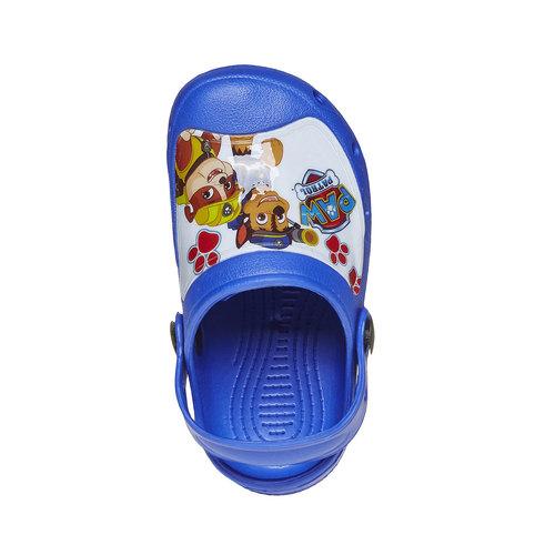 Sandali blu da bambino con stampa, blu, 272-9151 - 19
