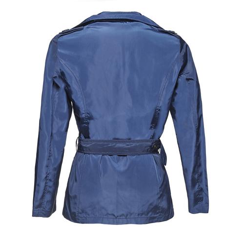 Trench blu da donna bata, blu, 979-9205 - 26