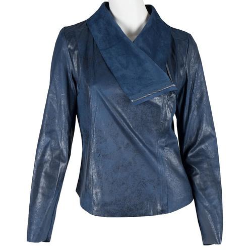 Giacca blu primaverile bata, blu, 979-9635 - 13