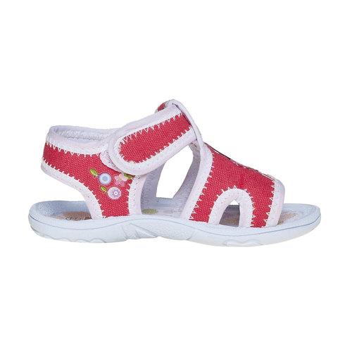 Sandali da bambina, rosso, 279-5148 - 15