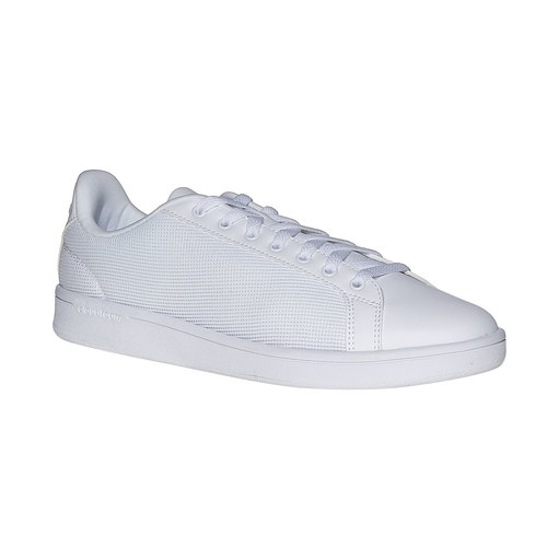 Sneakers bianche casual adidas, bianco, 809-1138 - 13