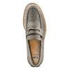 Mocassini in suede bata, grigio, 813-2163 - 17