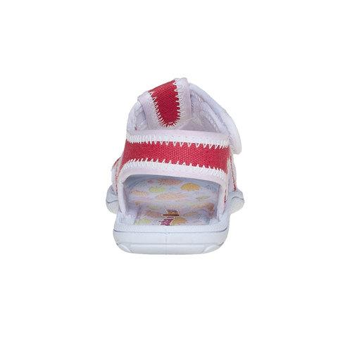 Sandali da bambina, rosso, 279-5148 - 17