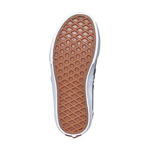 Sneakers da bambino con motivo a scacchi vans, nero, 489-6102 - 26