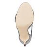 sandali metalizzati con tacco insolia, grigio, 761-2399 - 26