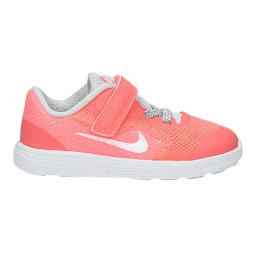 Sneakers rosa da ragazza nike, rosso, 109-5549 - 15