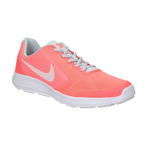 Sneakers rosa da ragazza nike, rosso, 409-5149 - 13