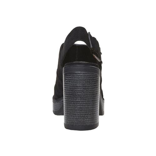 Sandali neri da donna, nero, 769-6252 - 17