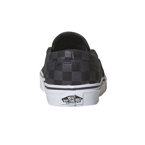 Slip-on da donna con motivo vans, nero, 589-6288 - 17